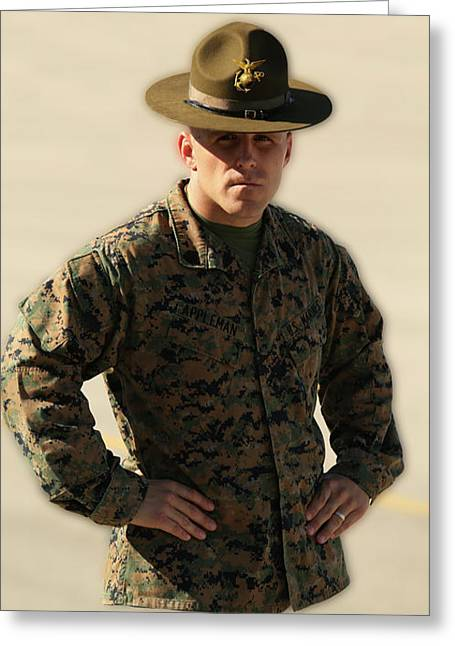 If Everybody Could Get In The Marines .  .  . Greeting Card