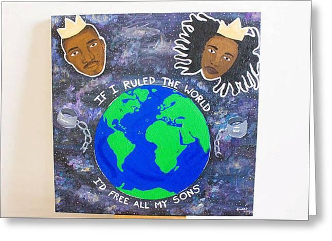 If I Ruled The World Greeting Card