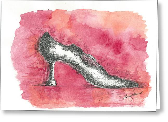 If The Shoe Fits Greeting Card