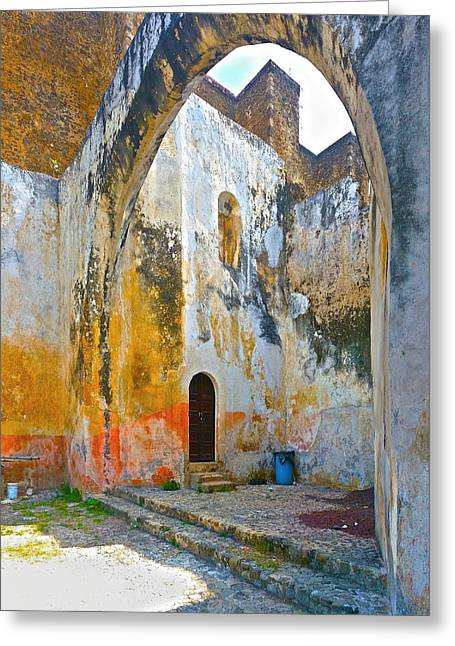 If These Walls Could Speak Greeting Card by John Bartosik