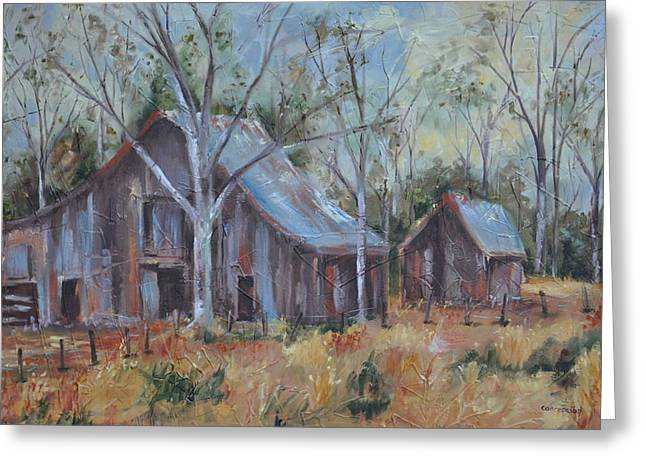 Recently Sold -  - Outbuildings Greeting Cards - If They Could Speak Greeting Card by Ginger Concepcion