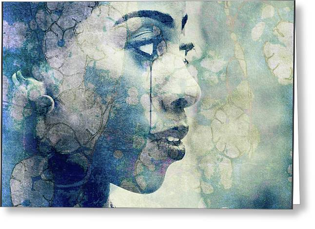 Greeting Card featuring the digital art If You Leave Me Now  by Paul Lovering