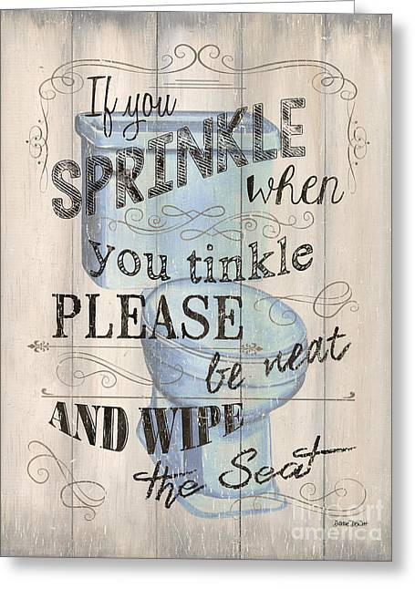 If You Sprinkle Greeting Card by Debbie DeWitt