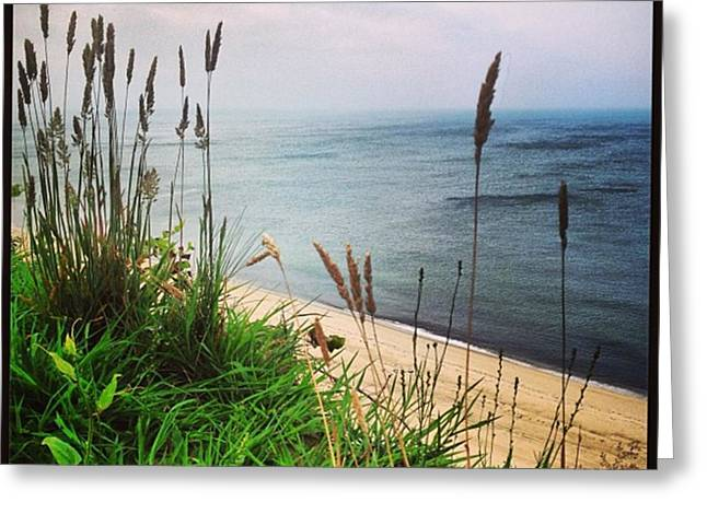 #igaddict #iphonesia #beach #cliff Greeting Card by Ben Berry