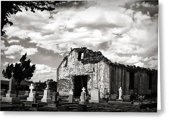 Iglesia Cementerio Greeting Card