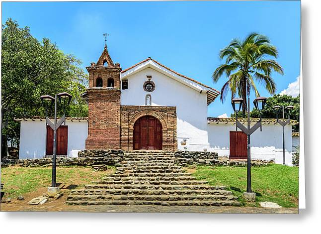 Iglesia De San Antonio Greeting Card