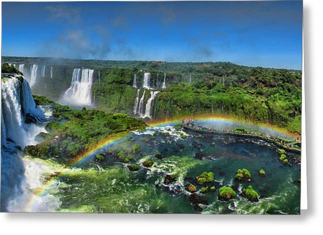 Iguazu Panorama Greeting Card