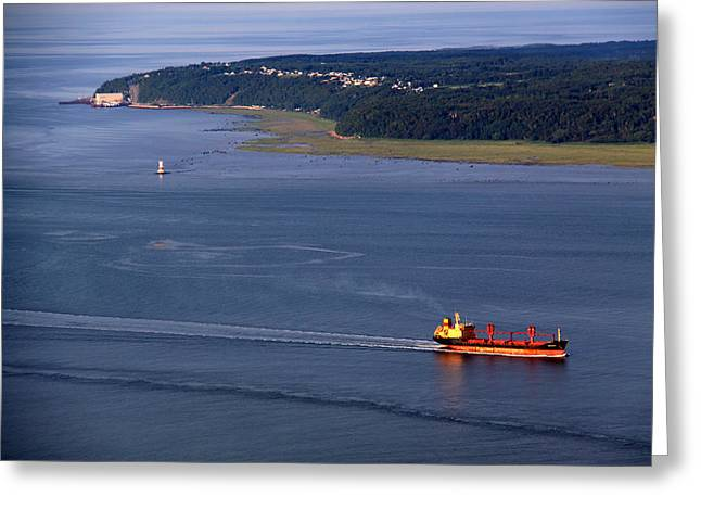 Ile-aux-coudres Greeting Card by Michel Thibault