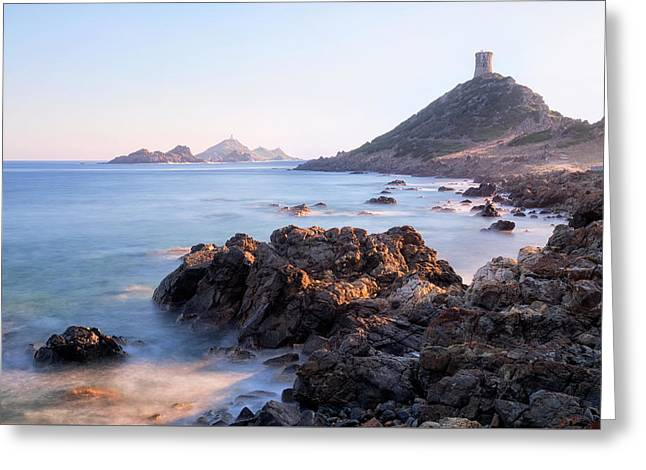 iles sanguinaires  - Corsica Greeting Card
