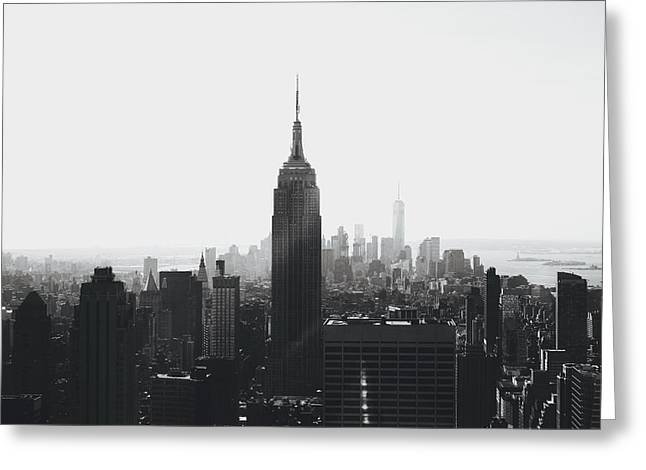 I'll Take Manhattan  Greeting Card by J Montrice