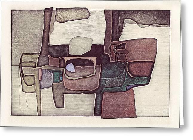 Illusion I Greeting Card by Agnese Kurzemniece