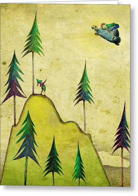 Illustration No.1 Greeting Card by Ana Alfianu