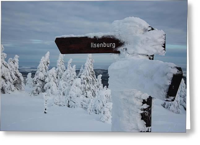 Ilsenburg, Harz Greeting Card