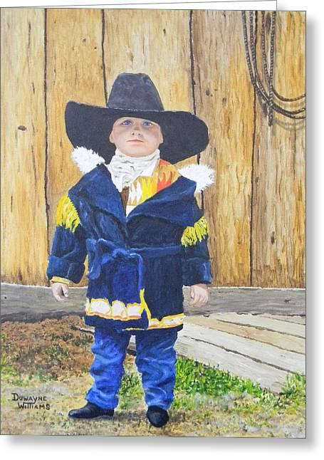 I'm A Cowboy Greeting Card
