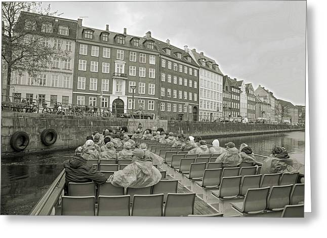 I'm Not A Tourist In Nyhavn Greeting Card