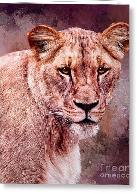 I'm Not Lion  Greeting Card