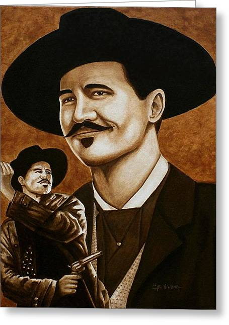 I'm Your Huckleberry Greeting Card