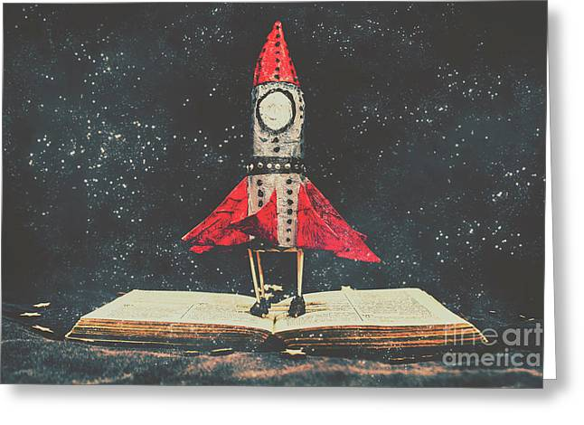 Imagination Is A Space Of Learning Fun Greeting Card