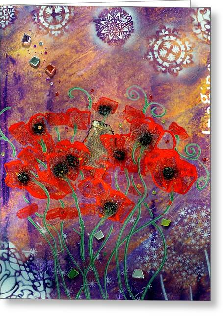Imagine By Mimi Stirn Greeting Card