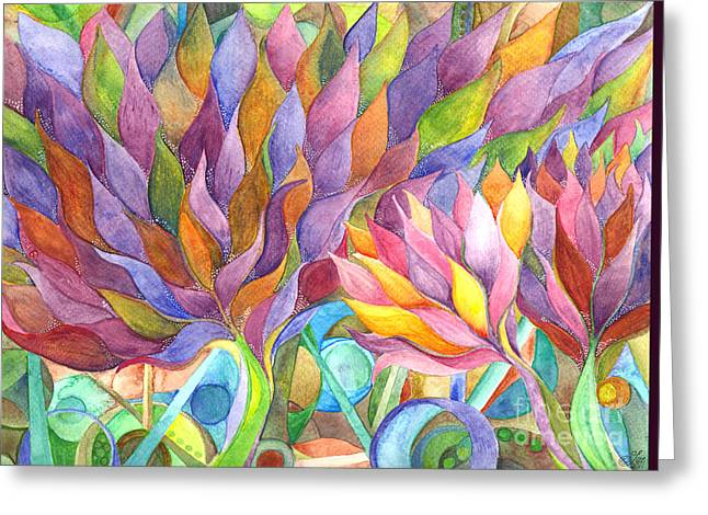 Imagine Spring Greeting Card by Sue Gardiner