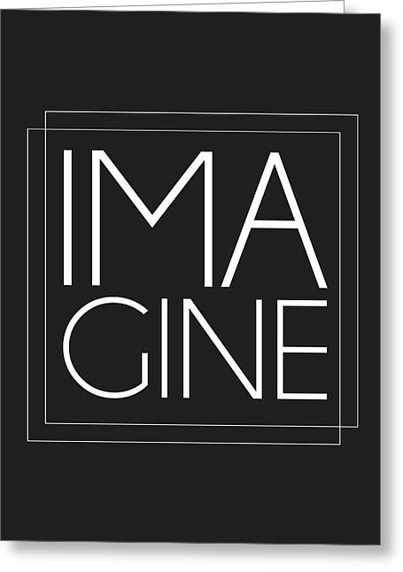 Imagine Greeting Card by Studio Grafiikka
