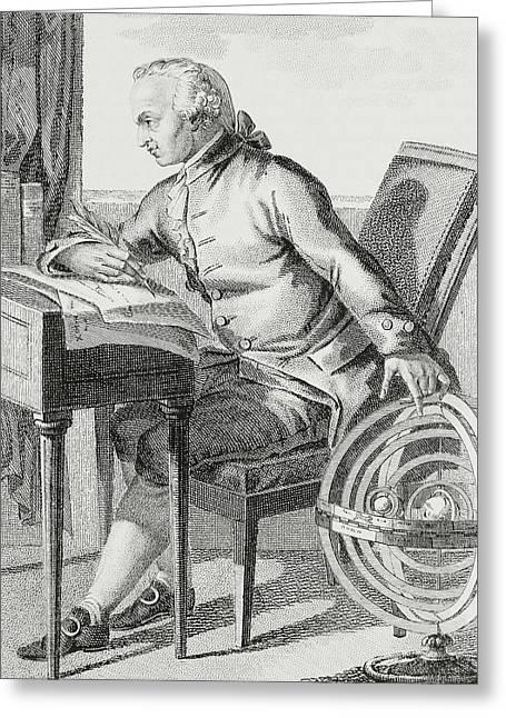 Immanuel Kant Greeting Card by German School