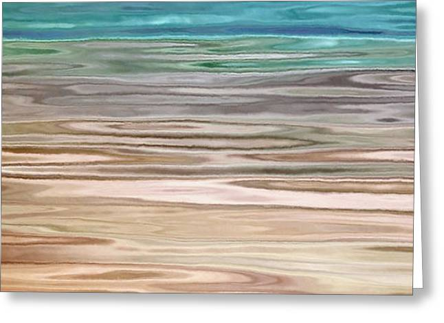 Immersed - Abstract Art Greeting Card