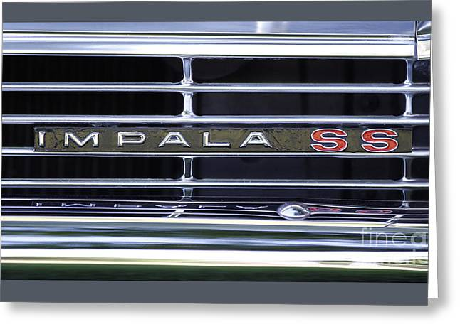 Impala Ss Greeting Card