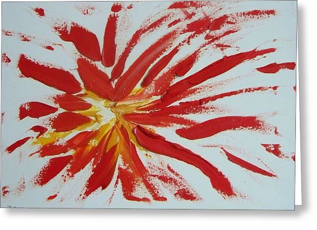 Impasto Blasto Greeting Card