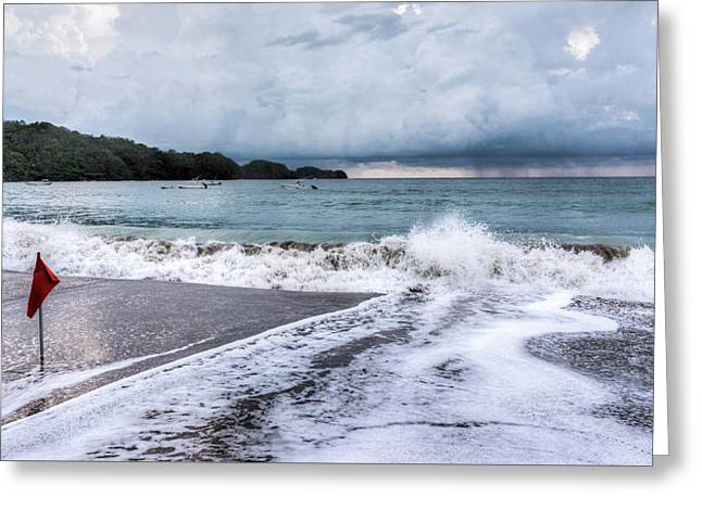 Impending Storm  Greeting Card by Michael Santos
