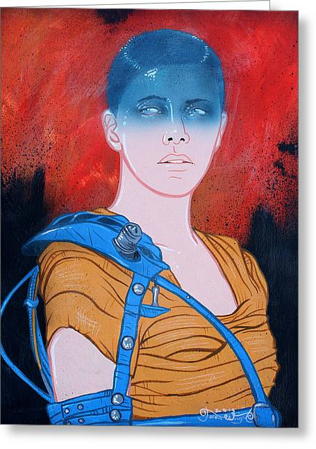 Imperator Furiosa Original Available  Greeting Card by Jason  Wright