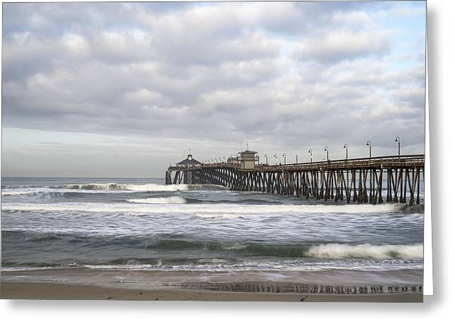 Imperial Beach Pier Greeting Card