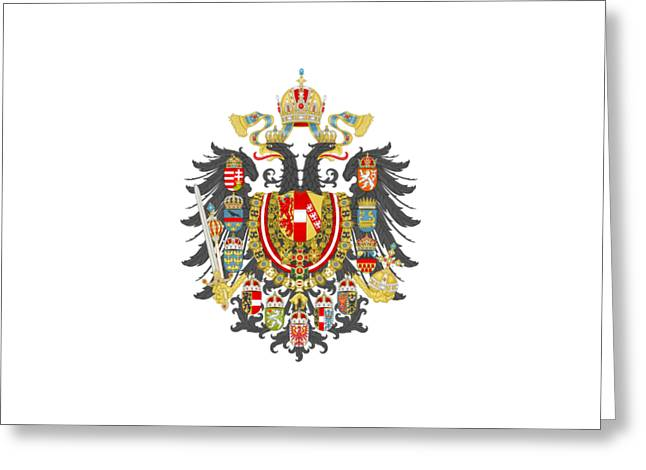 Imperial Coat Of Arms Of The Empire Of Austria-hungary Transparent Greeting Card