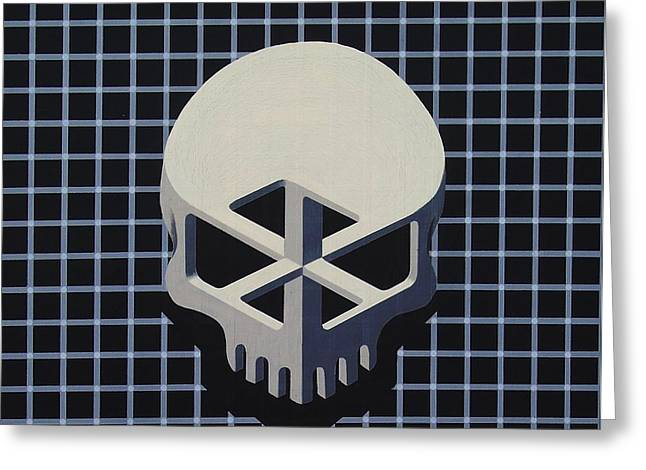 Impossible Skull Greeting Card