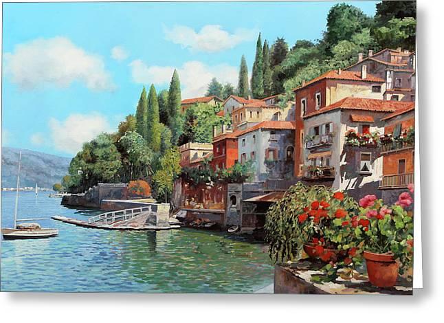 Impressioni Del Lago Greeting Card by Guido Borelli