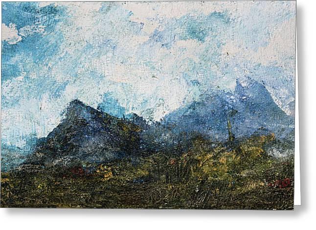 Impressionistic Landscape Greeting Card