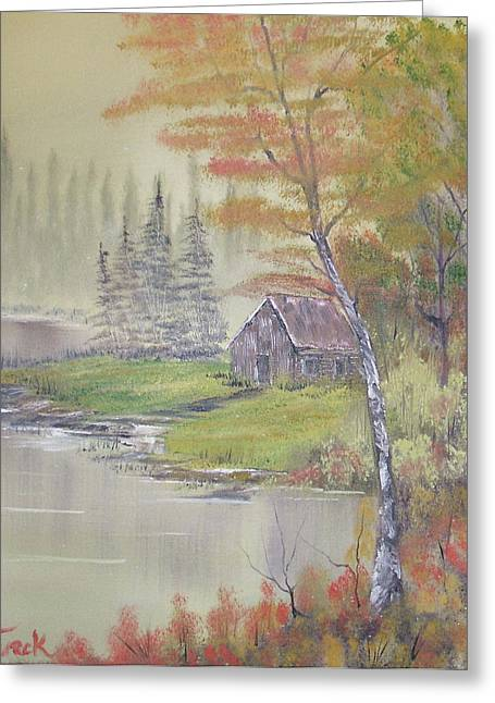 Impressions In Oil - 10 Greeting Card by Bill Turck