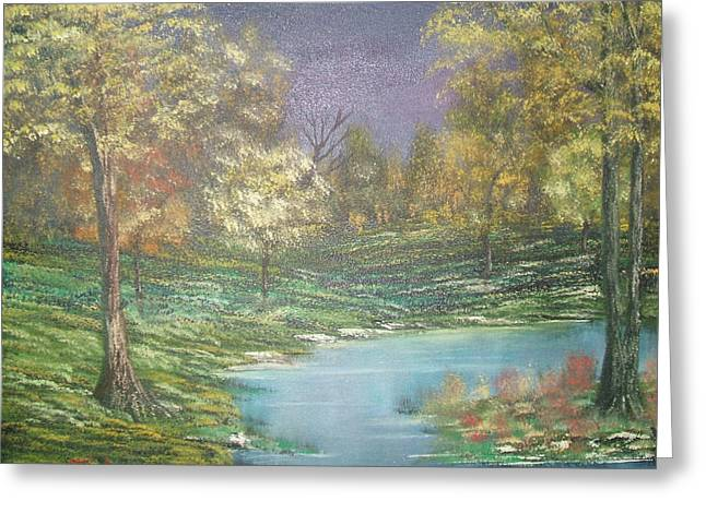 Impressions In Oil - 15 Greeting Card by Bill Turck