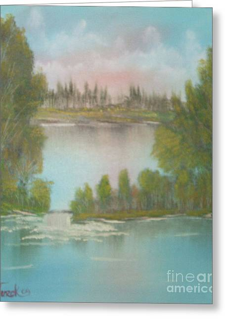 Impressions In Oil - 5 Greeting Card by Bill Turck