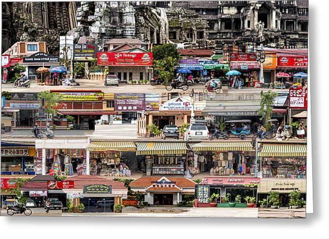 Tapestry Of Memories - Cambodia #1 Greeting Card