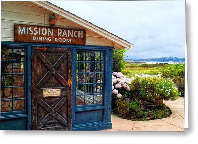 Impressions Of Mission Ranch Greeting Card by Glenn McCarthy Art and Photography