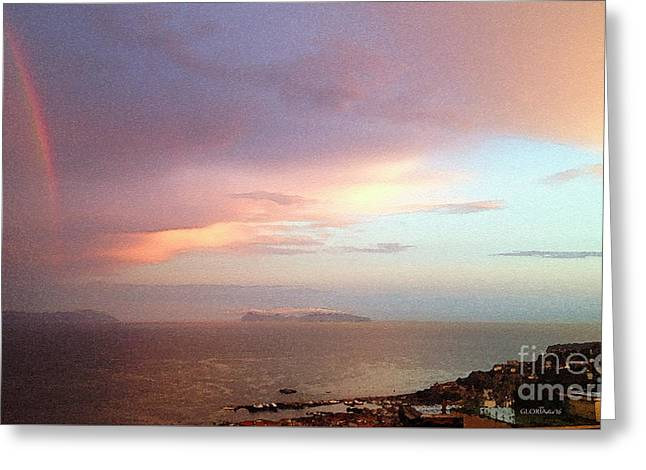 Impressions Of The Bay Of Naples #2 Greeting Card