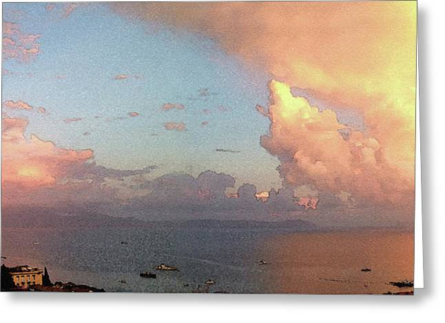 Impressions Of The Bay Of Naples #4 Greeting Card