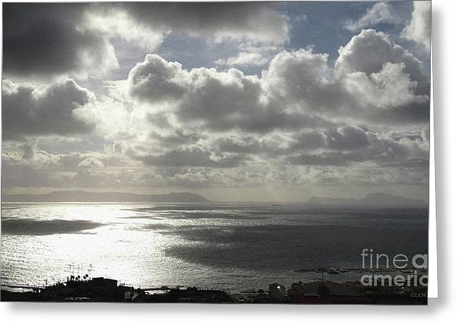 Impressions Of The Bay Of Naples #5 Greeting Card
