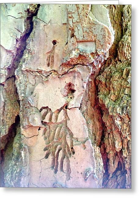 Impressions - Tree Dancers Greeting Card