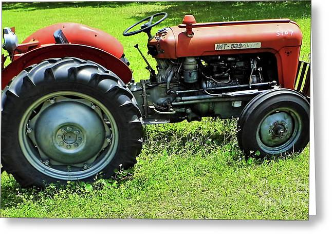 Imt 539 Tractor Greeting Card