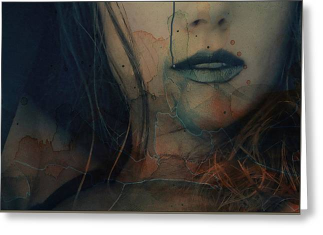 Greeting Card featuring the mixed media In A Broken Dream  by Paul Lovering