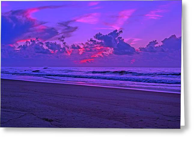In All Its Brilliance Topsail Island Greeting Card by Betsy Knapp