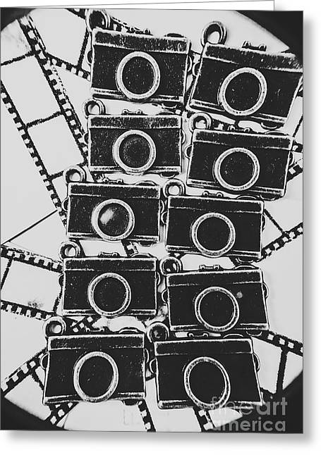 In Camera Art Greeting Card