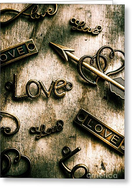 In Contrast Of Love And Light Greeting Card